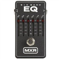 Dunlop M109 Dunlop 6 Band Equalizer - L.A. Music - Canada's Favourite Music Store!
