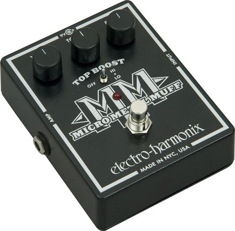 Electro-Harmonix XO Micro Metal Muff Distortion Guitar Effects Pedal - L.A. Music - Canada's Favourite Music Store!
