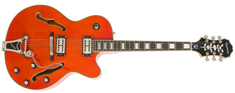 Epiphone Emperor Swingster Hollow Body Electric Guitar Orange ETSWORCB - L.A. Music - Canada's Favourite Music Store!