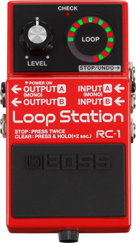 Boss RC1 Loop Station Pedal - L.A. Music - Canada's Favourite Music Store!