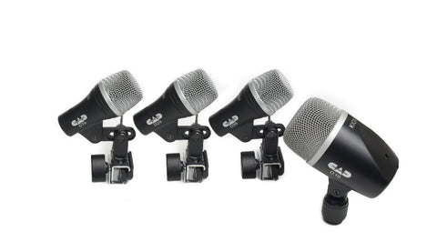 CAD 4-Piece Drum Microphone Pack - Two D29, One D19, One D10 STAGE4