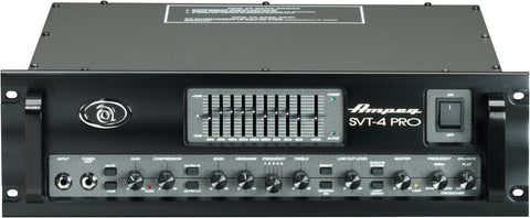 Ampeg SVT4PRO 1200W RMS Tube Preamp Stereo Power Amp - L.A. Music - Canada's Favourite Music Store!