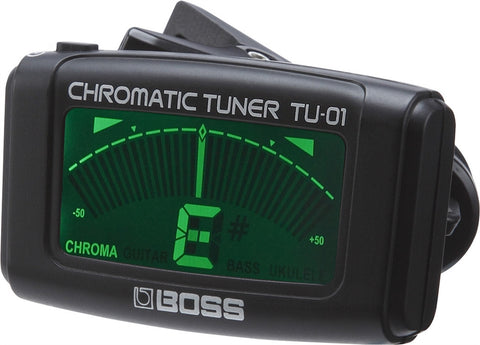 Boss Chromatic Clip-on Tuner - L.A. Music - Canada's Favourite Music Store!