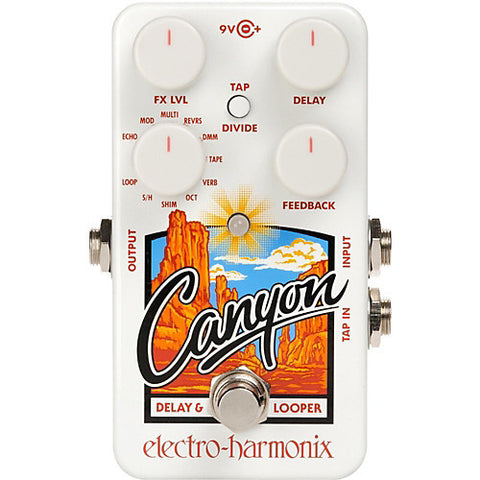 Electro Harmonix EHX Canyon Delay and Looper Pedal - L.A. Music - Canada's Favourite Music Store!