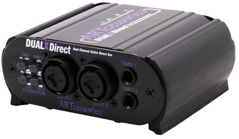 2 CHANNEL ACTIVE DIRECT BOX - L.A. Music - Canada's Favourite Music Store!