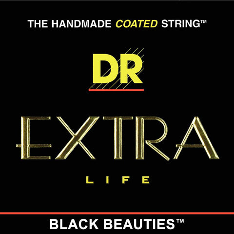DR Strings BKA-12 DR Strings BKA-12 Black K3 Coated Acoustic Strings - 12-54