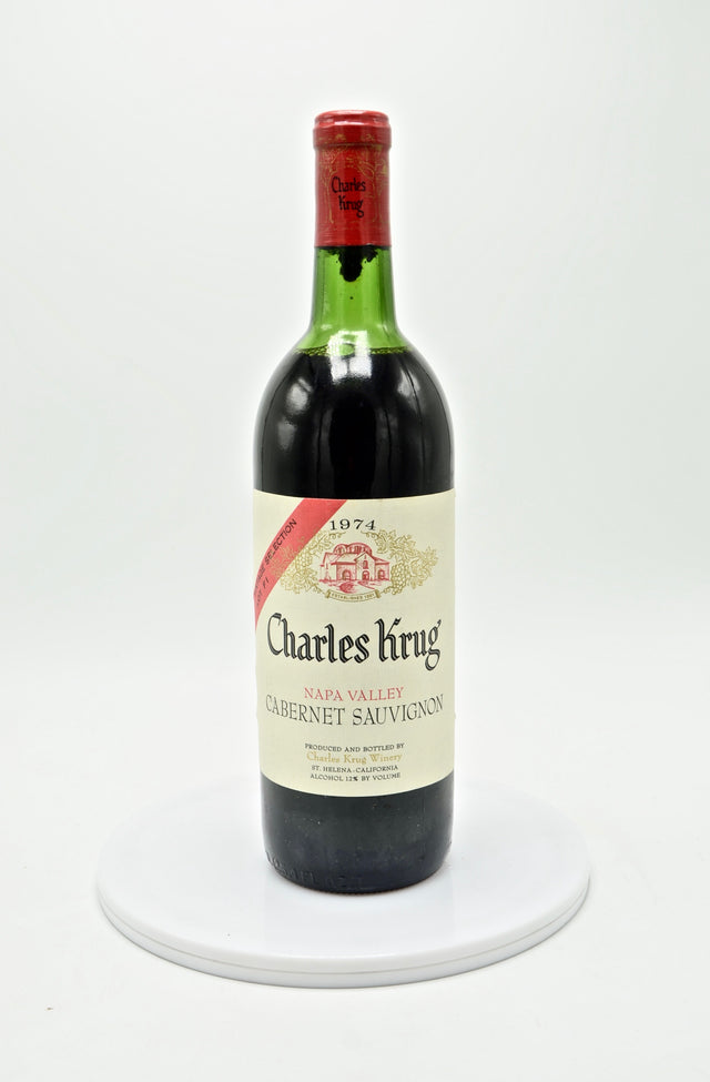 1974 Charles Krug Selection Lot F 1 Cabernet Sauvignon, Napa Valley
