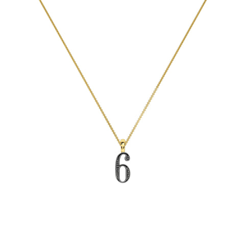 Lucky Number 6 Necklace