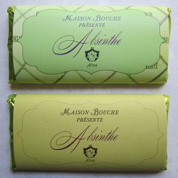 Absinthe Dark Chocolate Bar