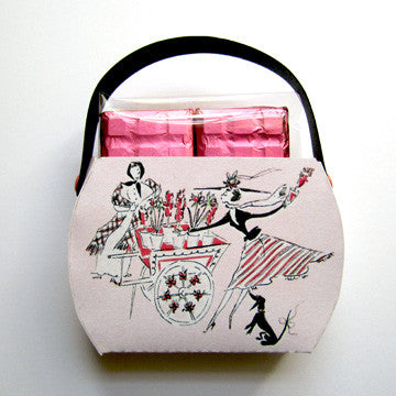 """Fashion & Flowers"" Purse with Rose Chocolates"