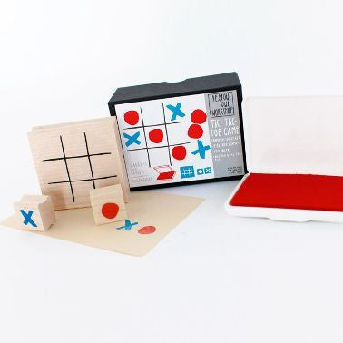 Tic Tac Toe Stamp Kit