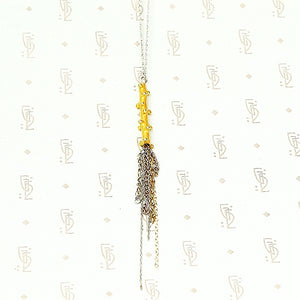 The Golden Twig Necklace by brunet