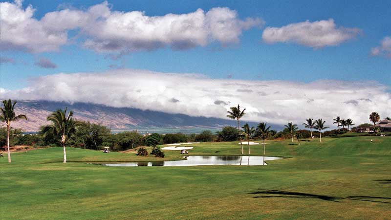 Maui Nui Course holes 1 and 9