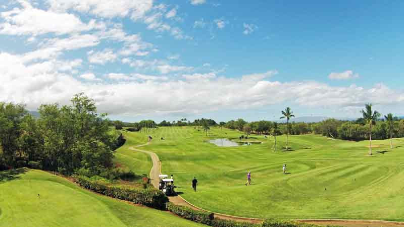 Maui Nui First Hole Hawaii Tee TImes