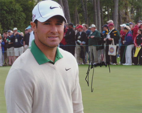 TREVOR IMMELMAN SIGNED PGA 8X10 PHOTO