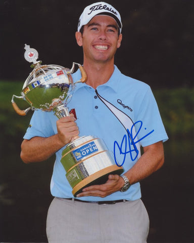 CHEZ REAVIE SIGNED PGA 8X10 PHOTO