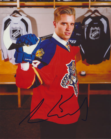 AARON EKBLAD SIGNED FLORIDA PANTHERS 8X10 PHOTO