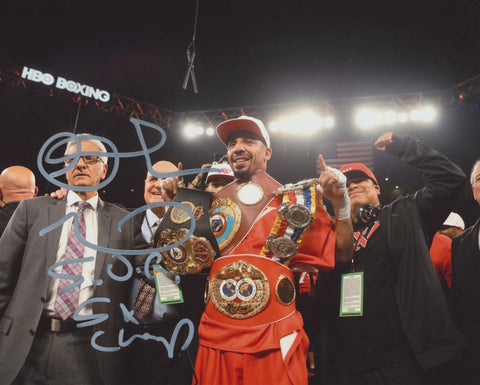 ANDRE WARD SIGNED BOXING 8X10 PHOTO