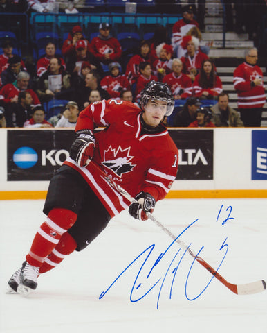 ADAM HENRIQUE SIGNED TEAM CANADA 8X10 PHOTO