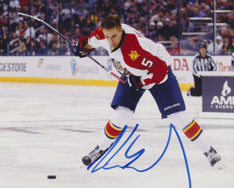 AARON EKBLAD SIGNED FLORIDA PANTHERS 8X10 PHOTO 2