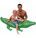 Swim Float Bed - Crocodile