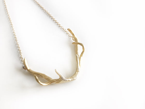 NEW! Huntress Artemis Antler Necklace