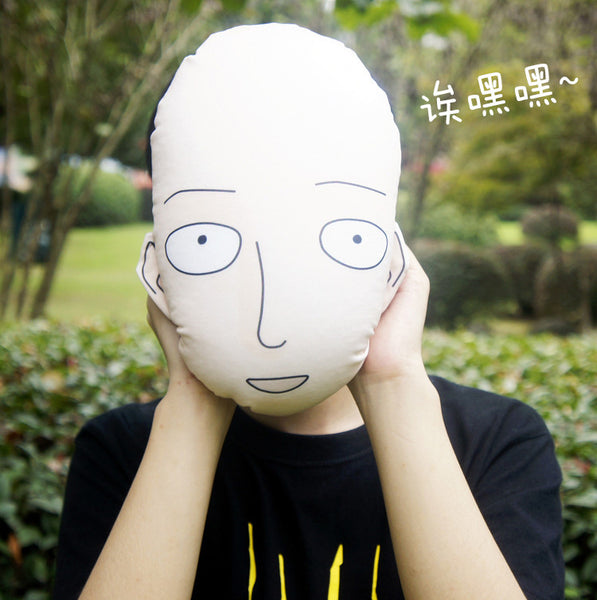 One Punch Man Saitama Mini Cushion Plush Pillow