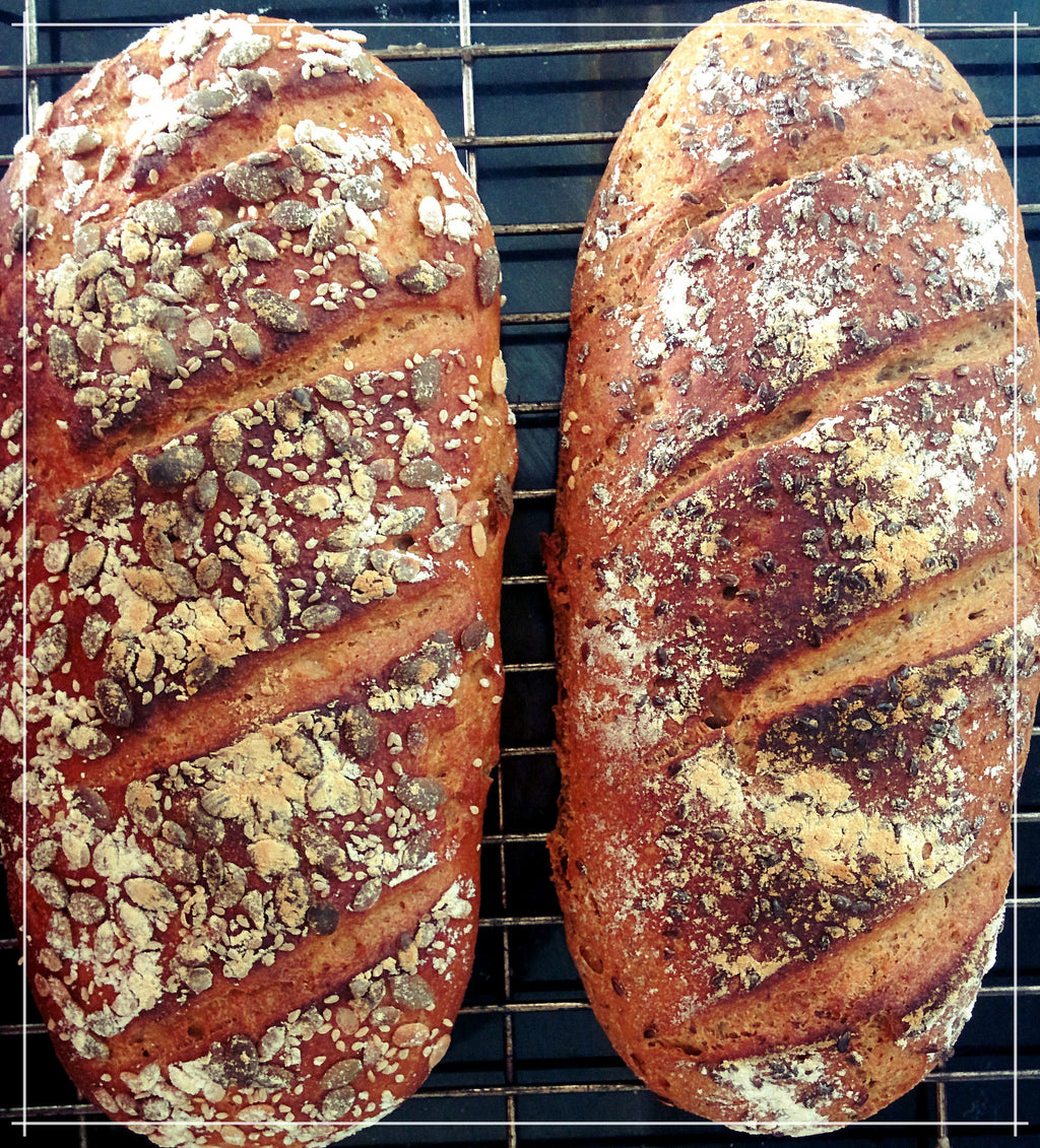 Thyme and Flaxseed Country Loaf