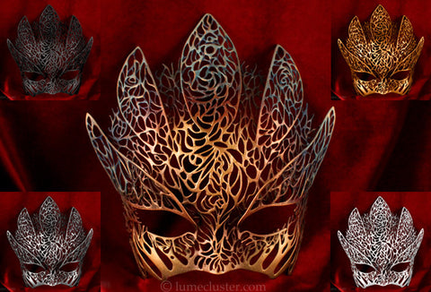 Dreamer Half Mask: Emergence (color)
