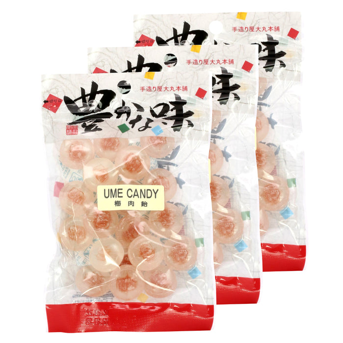 Japanese Ume Candy - 3 pack