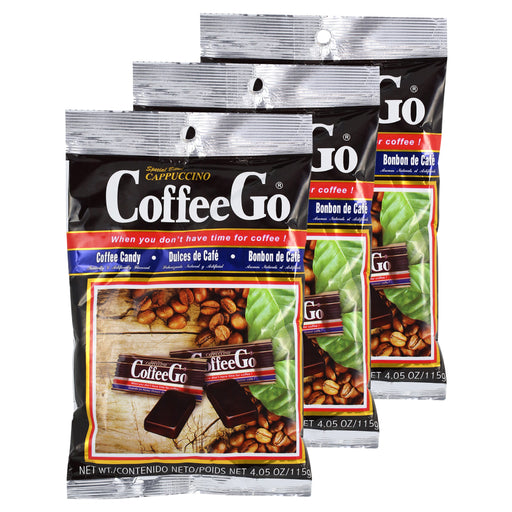 Cappuccino Coffee Go - 3 pack