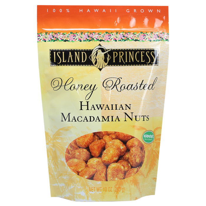 Island Princess Honey Roasted Hawaiian Macadamia Nuts