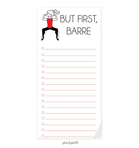 But first, Barre.  notepad