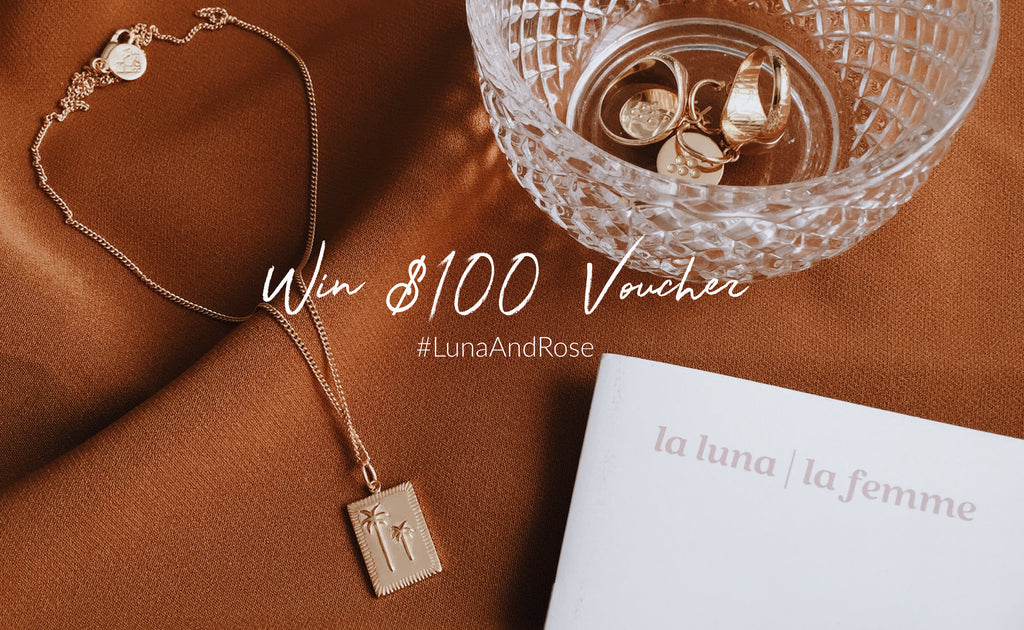 Win a $100 Online Voucher from Luna & Rose