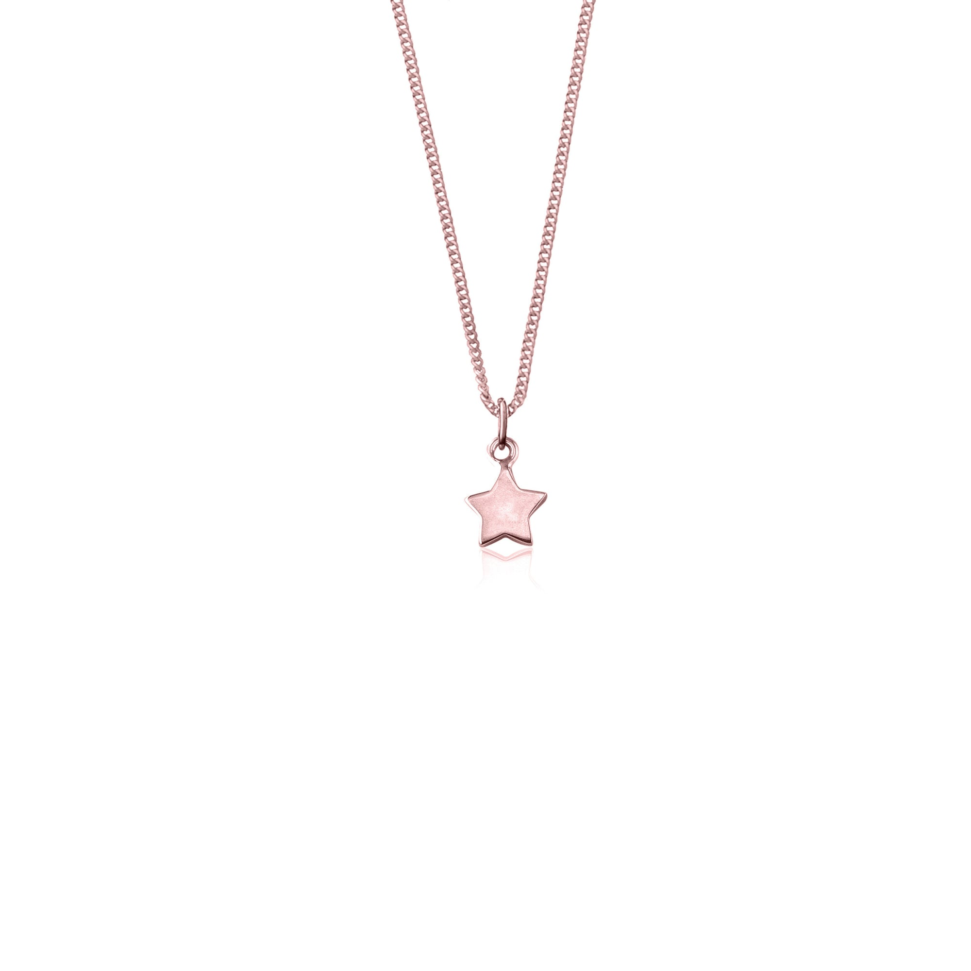 Wish Upon a Star Necklace (Rose Gold)