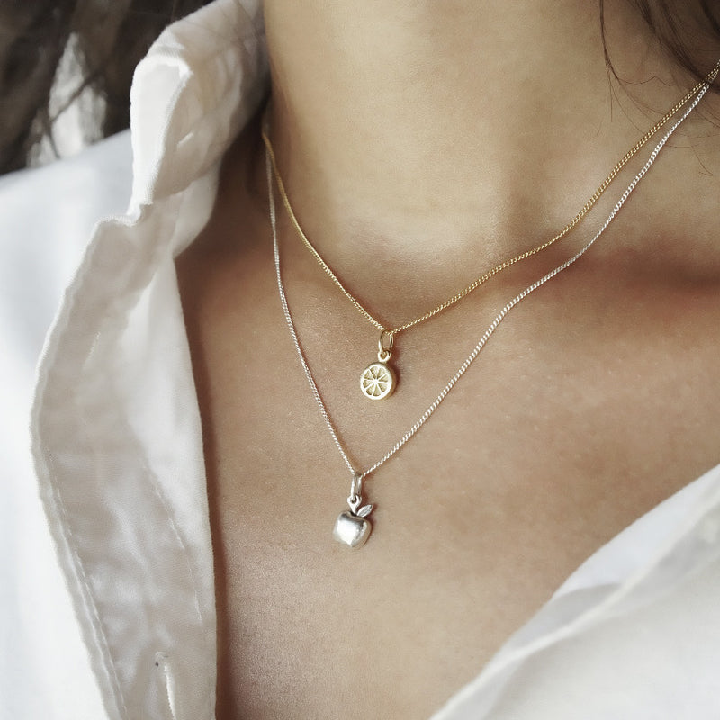 Orange you Cute Necklace (Gold)