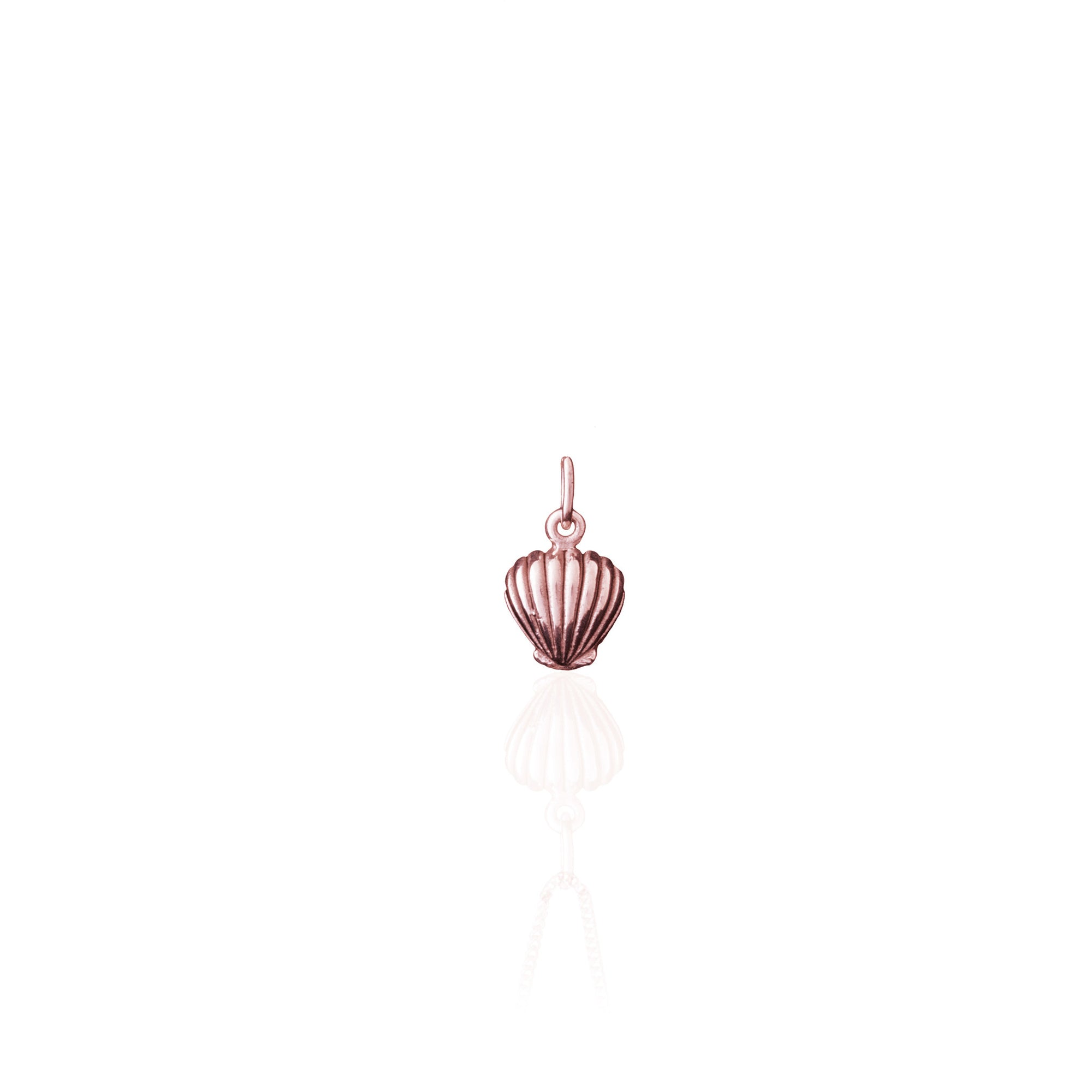 Shell We Dance? Charm (Rose Gold)