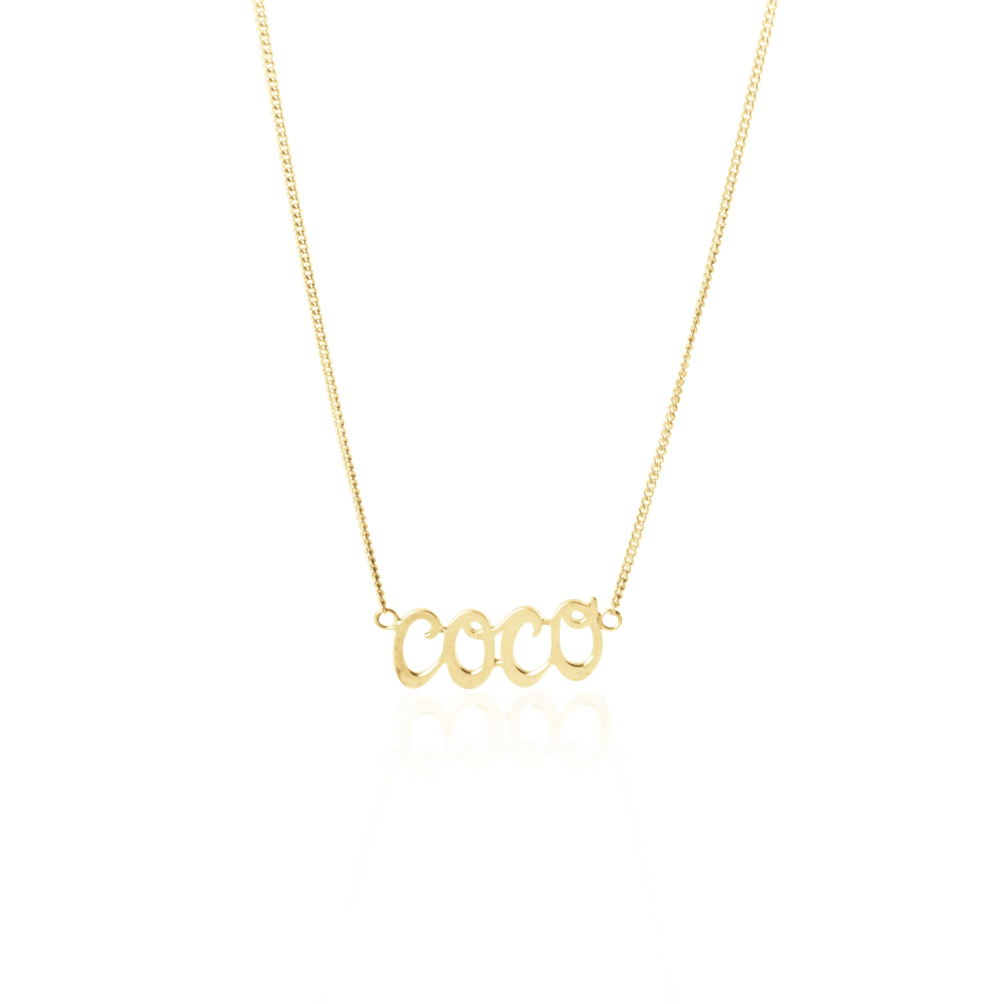 Coconut and Bliss x La Luna Rose Coco Necklace - GOLD