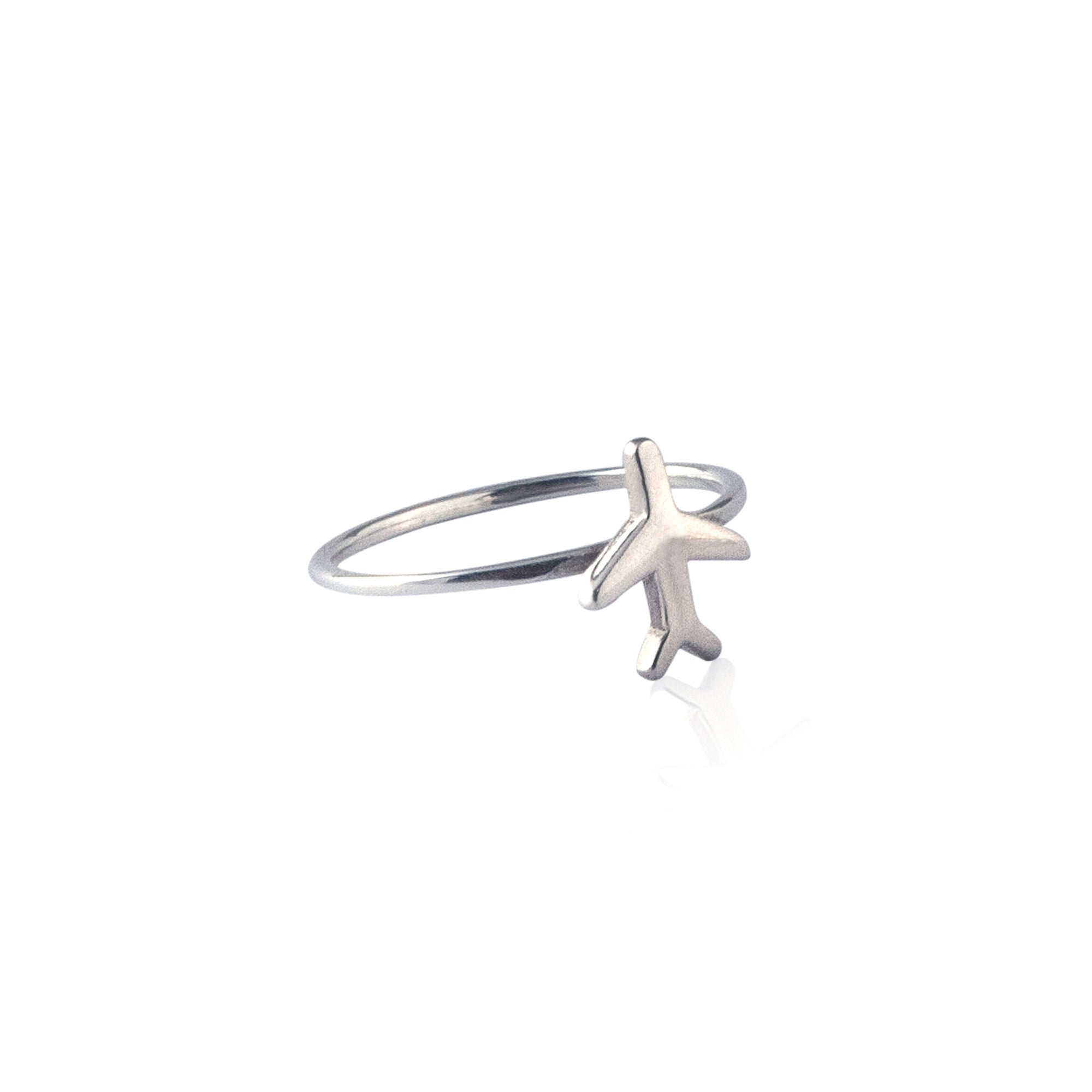 Just Plane Adventurous Ring (Silver)