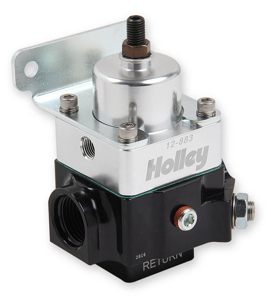 2 Port Double Adjustable Regulator 8 AN Adjustable from 4-9 PSI
