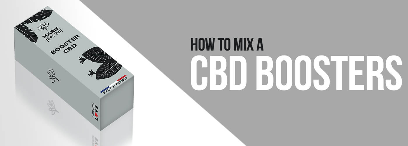 How to mix a CBD booster?