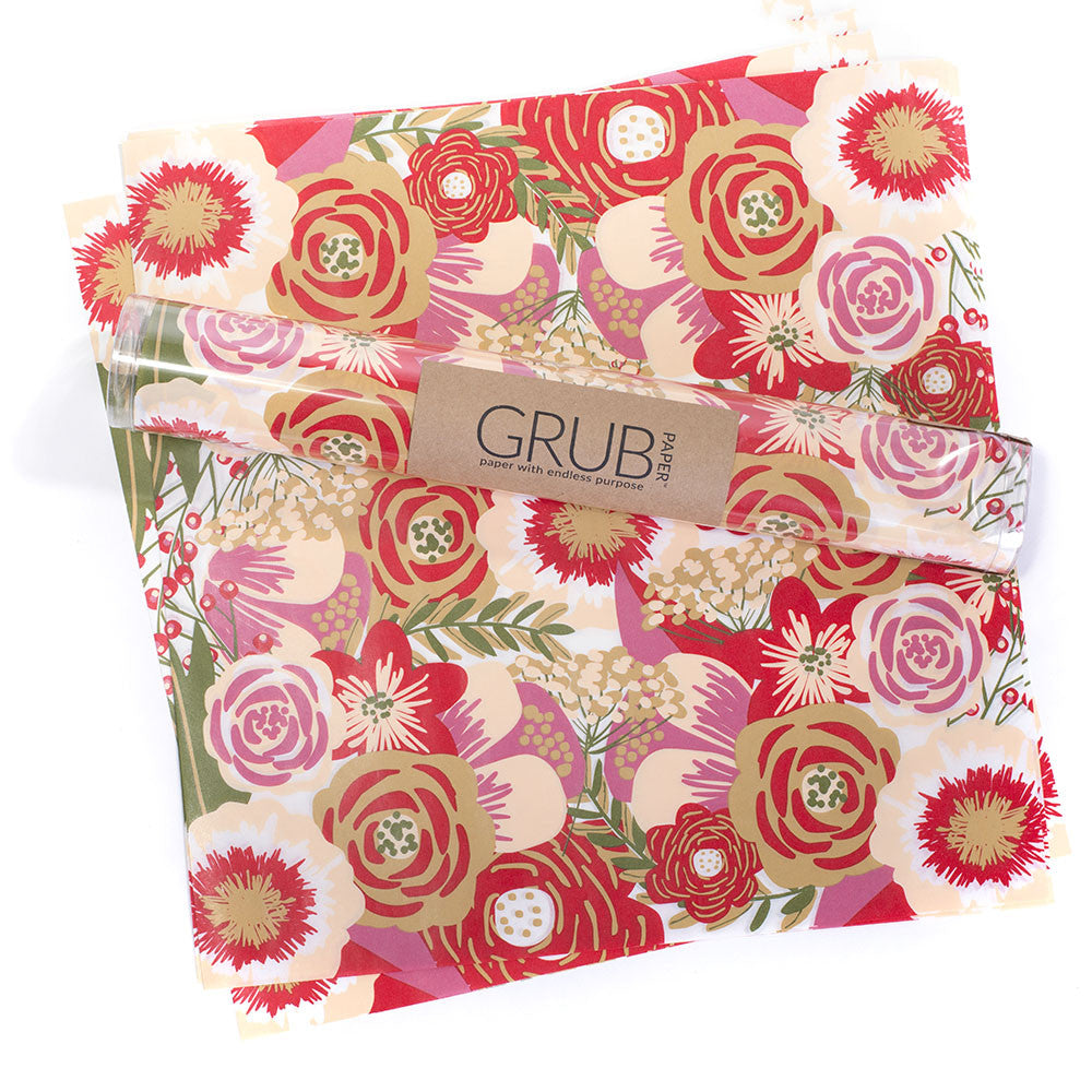 GRUB Paper - Floral