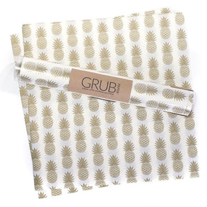 GRUB Paper - Gold Pineapple