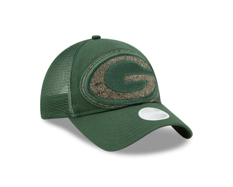 Green Bay Packers Shined Up Women's Trucker Hat