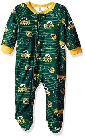 green bay packers,infant,child,toddler,blanket,sleeper,pajamas,pjs,sleepwear,clothing accessories