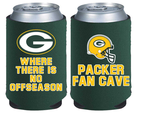 Green Bay Packers Fan Cave Can Cooler