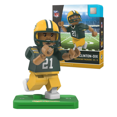 oyo,sports,green bay packers,ha,ha,haha,clinton-dix,clinton,dix,action,toy,figure,mini-figure,minifigure,g4,generation,4,limited,edition