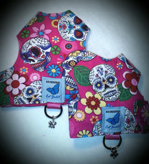 Skull & Crossbones, Sugar Skulls and Flames Designs