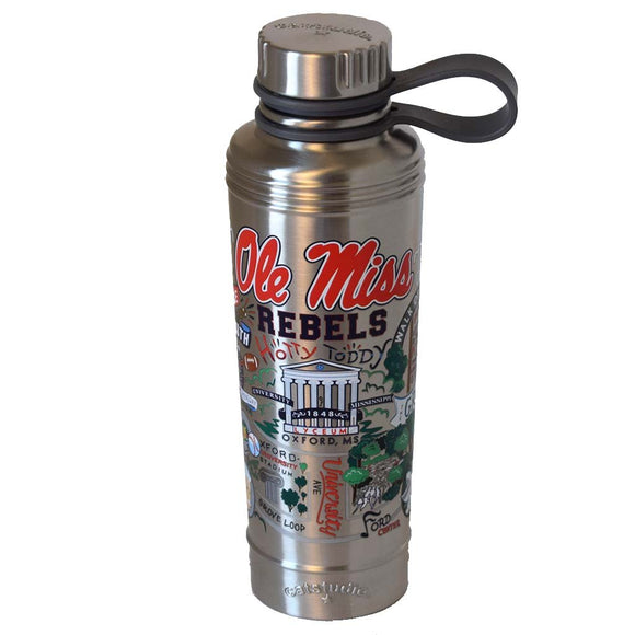 Cat Studio 18oz Stainless Water Bottle - Ole Miss