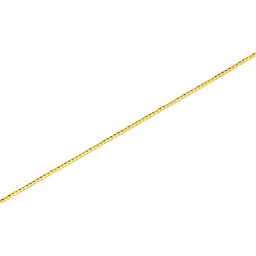 Curb 3Mm Anklet 18Kts Of Gold Plated